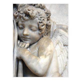 Ange de marbre à Venise Cartes Postales