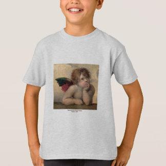 Ange de Sistine Madonna par Raphael T-shirts