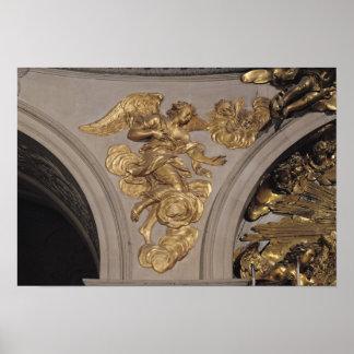 Ange de style de Louis XIV, de la voûte Posters