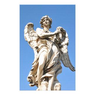 Ange en pierre à Rome, Italie Papeterie