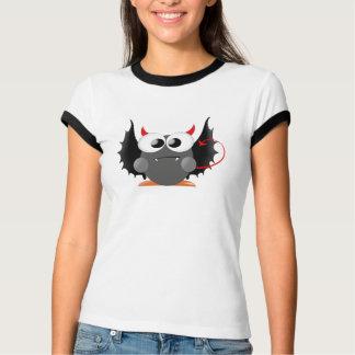 Ange et conception de bande dessinée de diable t-shirts