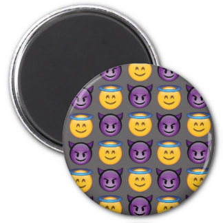Ange et diable Emojis Aimant