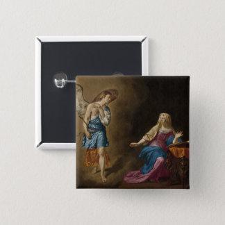 Ange et Mary d'annonce Badges