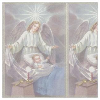 Ange gardien avec l'enfant tissu