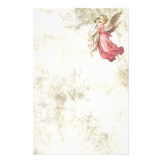 Ange gardien papier à lettre customisable