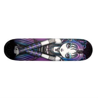 Ange observé gothique d'Ariel grand Emo Skateboards Personnalisables