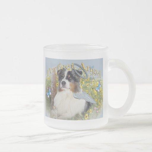 Ange parfait de berger australien tasse à café