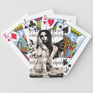 Ange vintage jeu de cartes