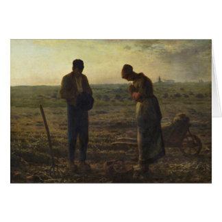 Angelus par le millet de Jean-François Carte De Vœux