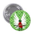 anges à motifs de losanges de DES Badge Rond 2,50 Cm