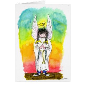 Anges avec les chaussures raisonnables :  Carte de