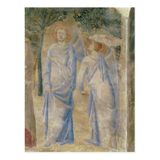 Anges de la chapelle de St Jean, 1347 Carte Postale