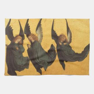 Anges de Noël de la Renaissance, maître de Serviette Pour Les Mains