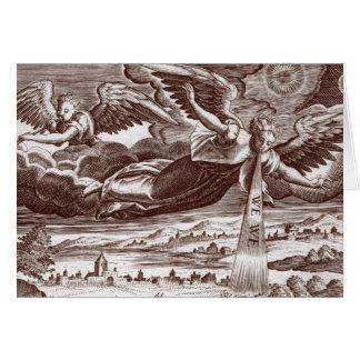 Anges du livre des révélations - carte de voeux
