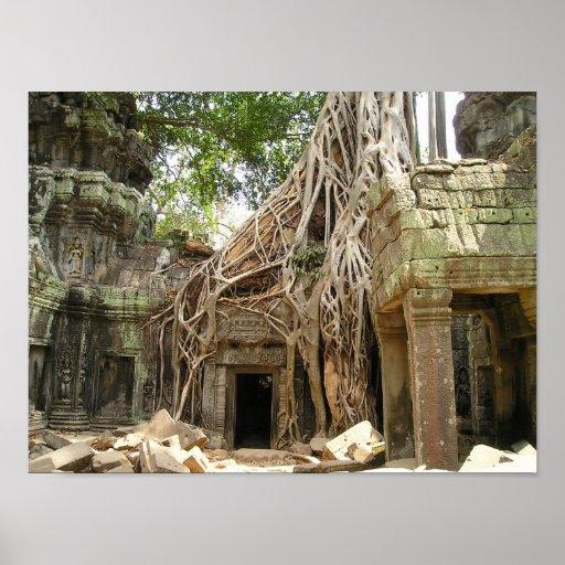 Angkor Vat Cambodge Affiches