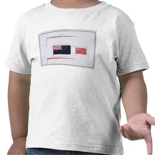 Anglais diminue, d'un livre français des drapeaux, t-shirts