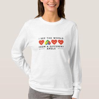 Angle différent d'autisme t-shirt