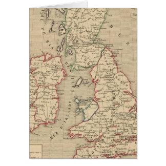 Angleterre, Ecosse, Irlande et équipent 1100 un Carte De Vœux