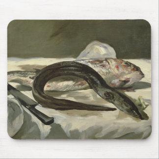 Anguille de Manet | et mulet rouge, 1864 Tapis De Souris