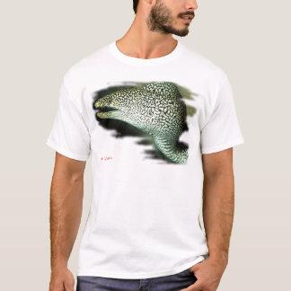 Anguille portée et Prête-Guinie en équilibre de T-shirt