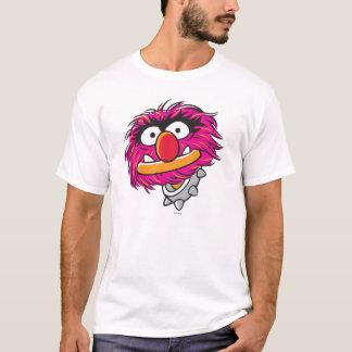 Animal avec le collier t-shirt