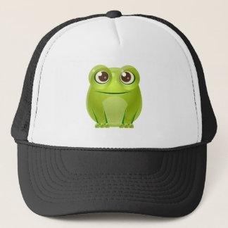 Animal de bébé de grenouille dans le style doux casquette