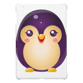 Animal de bébé de pingouin dans le style doux étui iPad mini