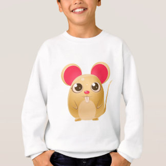 animal du bébé 00078Mouse dans le style doux Girly Sweatshirt