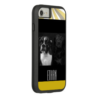 Animal familier de chiot de visage de yeux de coque Case-Mate tough extreme iPhone 7