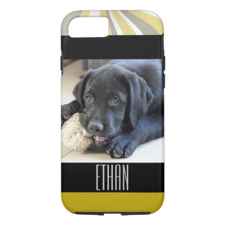 Animal familier de chiot de visage de yeux de coque iPhone 7