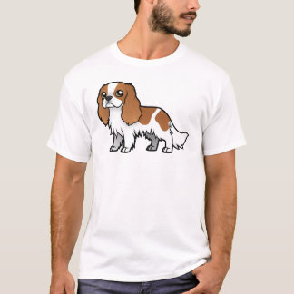 Animal familier mignon de bande dessinée t-shirt