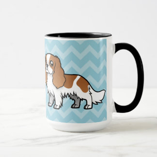 Animal familier mignon de bande dessinée tasses