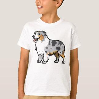 Animal familier personnalisable mignon sur le t-shirt