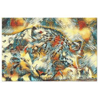 AnimalArt_Leopard_20170605_by_JAMColors Papier Mousseline