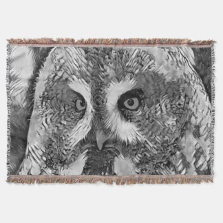 AnimalArtBW_Owl_20170601_by_JAMColors Couverture