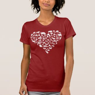Animaux d amour t-shirts