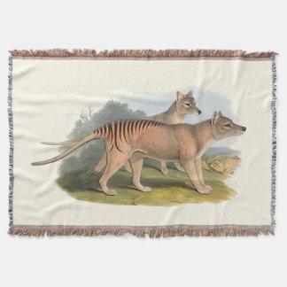 Animaux de l'Australie le tigre tasmanien Couverture