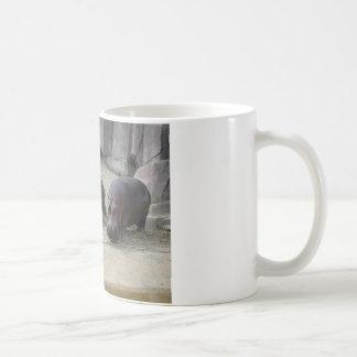 Animaux de zoo mug blanc