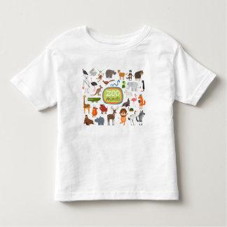 Animaux de zoo t-shirt