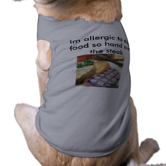 Animaux familiers drôles t-shirt pour chien