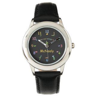 Animaux mignons personnalisés de zoo montres bracelet
