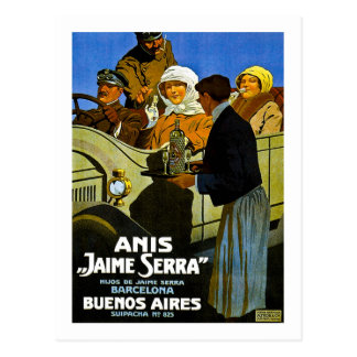 Anis Jaime Serra Buenos Aires - annonce vintage Carte Postale