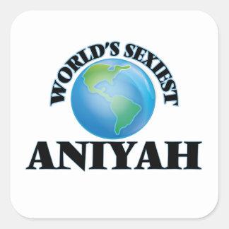 Aniyah le plus sexy du monde stickers carrés