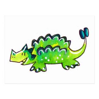Ankylosaurus Carte Postale