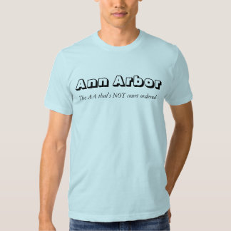 Ann Arbor. Aa T-shirts