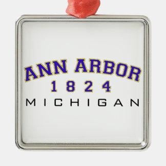 Ann Arbor, MI - 1824 Ornement De Noël