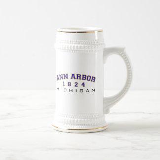 Ann Arbor, MI - 1824 Mugs