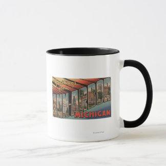 Ann Arbor, Michigan - grandes scènes de lettre Mug