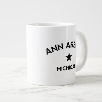 Ann Arbor Michigan Mug Extra Large