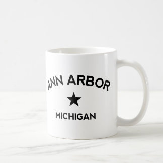 Ann Arbor Michigan Tasse À Café